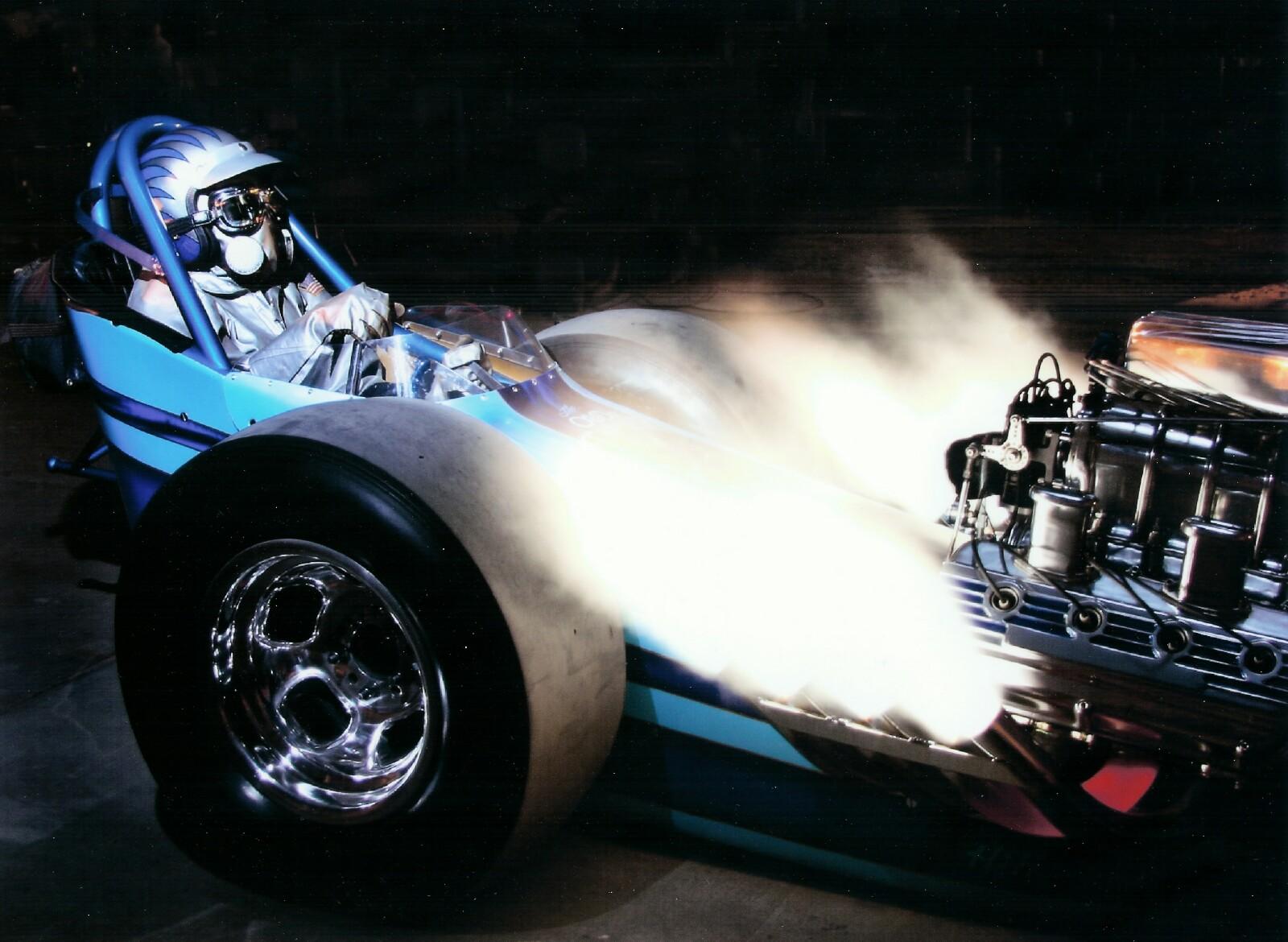 Top Fuel Drag Racer