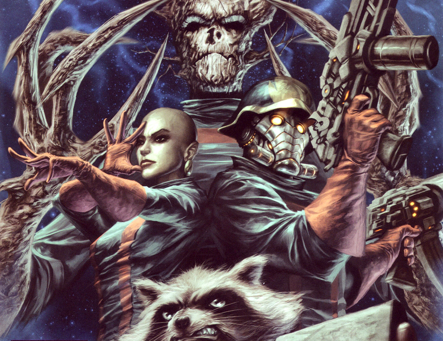 Guardians Of The Galaxy Comic Wallpaper