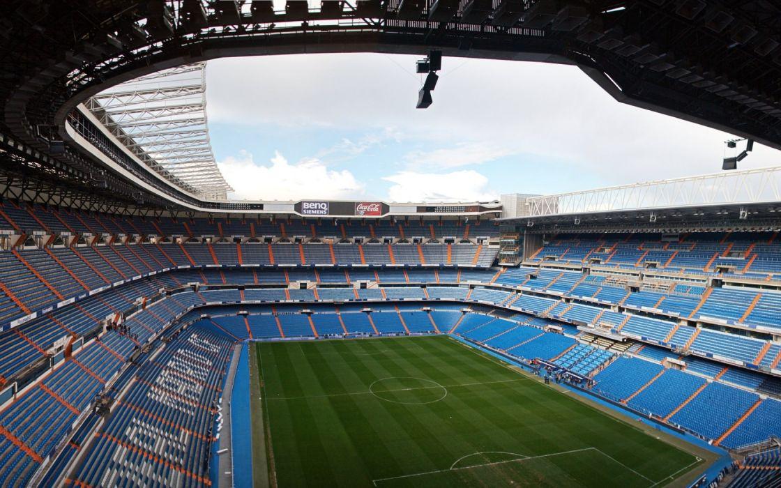 Stadium Football Real Madrid Santiago Bernabeu wallpaper