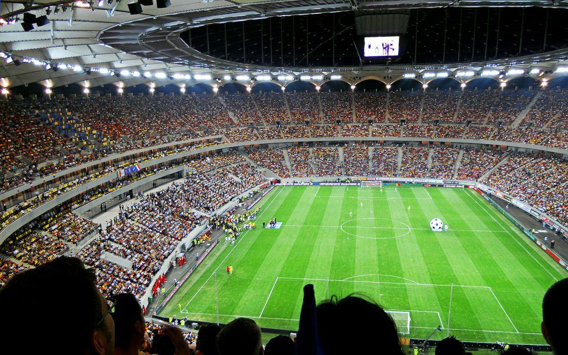 Stadium Football National Arena Bucharest wallpaper