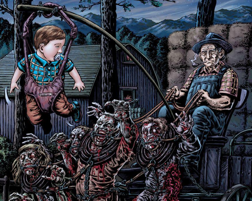 NIGHT OF THE LIVING DEAD avatar-press     je wallpaper