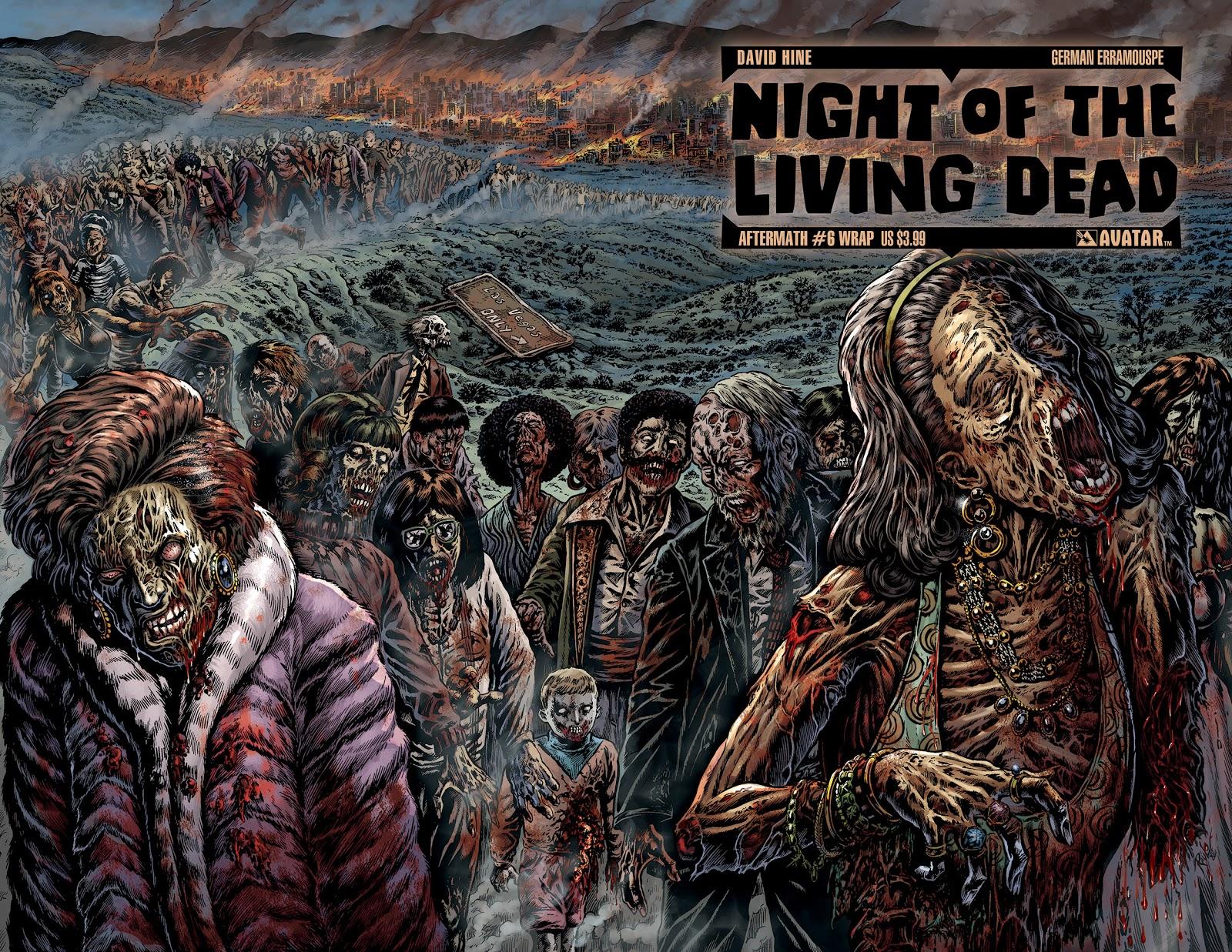 Night Of The Living Dead Avatar Press Jw Wallpaper 1600x1237