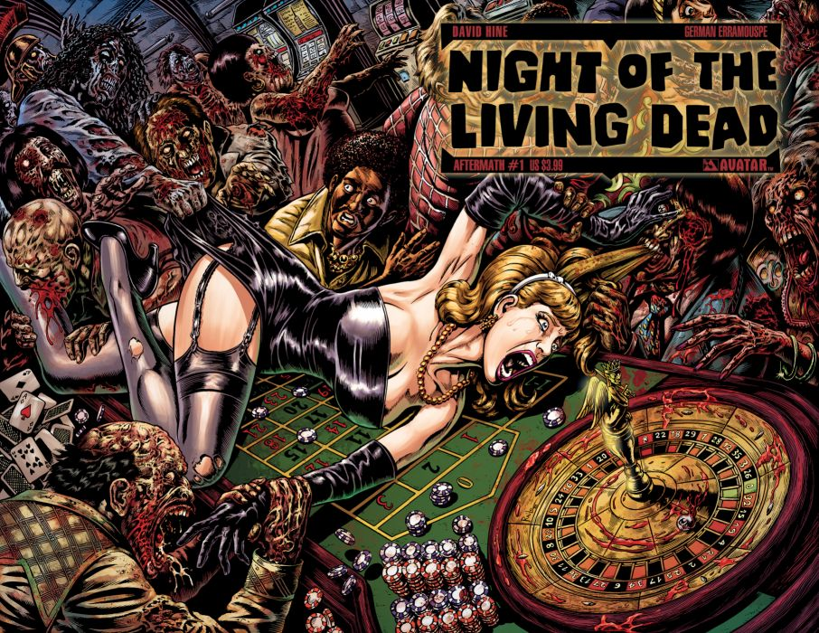 NIGHT OF THE LIVING DEAD avatar-press   je wallpaper