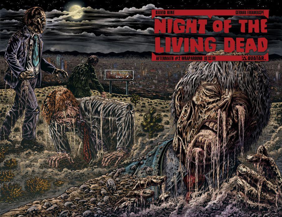NIGHT OF THE LIVING DEAD avatar-press   jq wallpaper