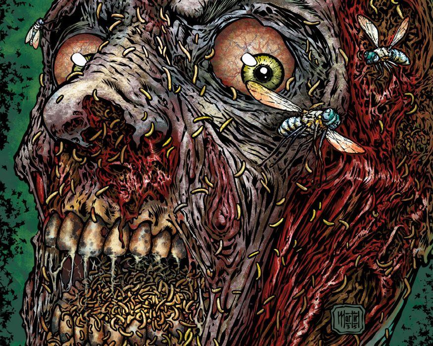 NIGHT OF THE LIVING DEAD avatar-press dark skull      jk wallpaper