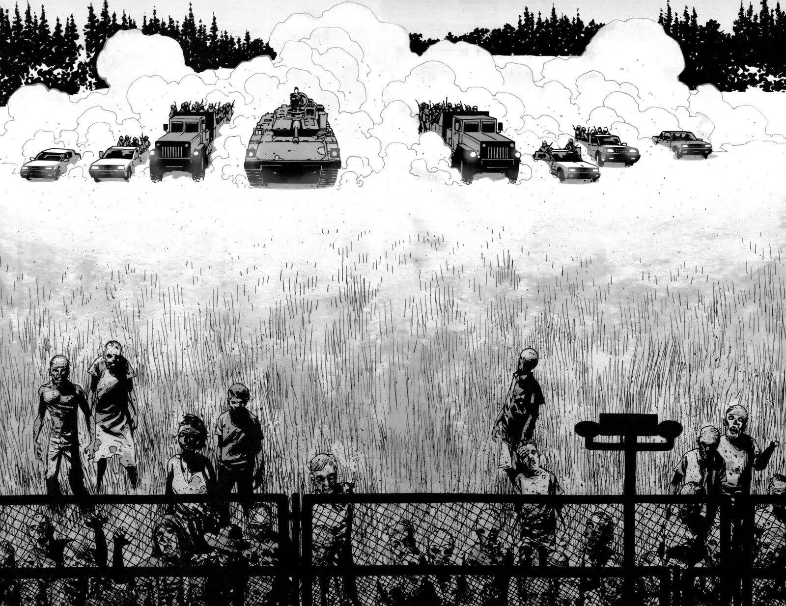 Walking Dead Image Comics G Wallpaper