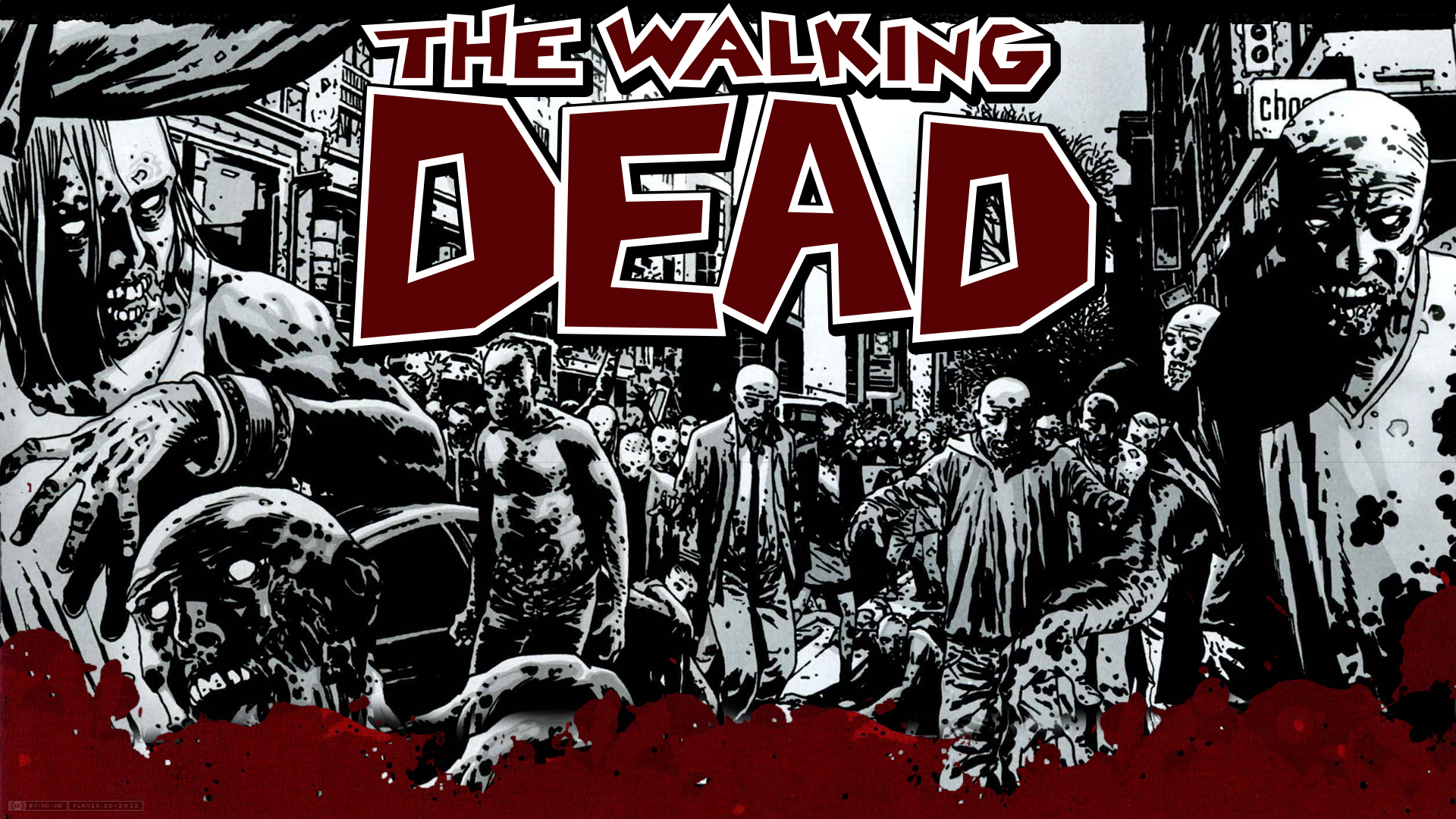 Walking Dead image-comics gs wallpaper | 1920x1080 ...