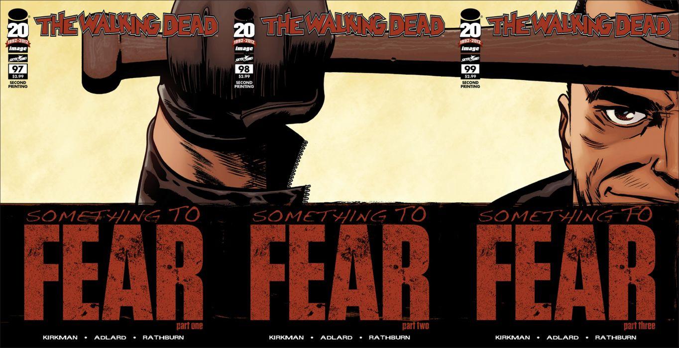 Walking Dead Image Comics Hg Wallpaper 2145x1101 138943