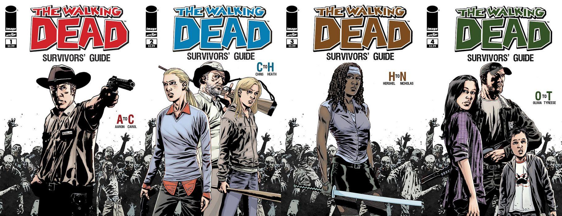Walking Dead Image Comics Multi Dual Wallpaper