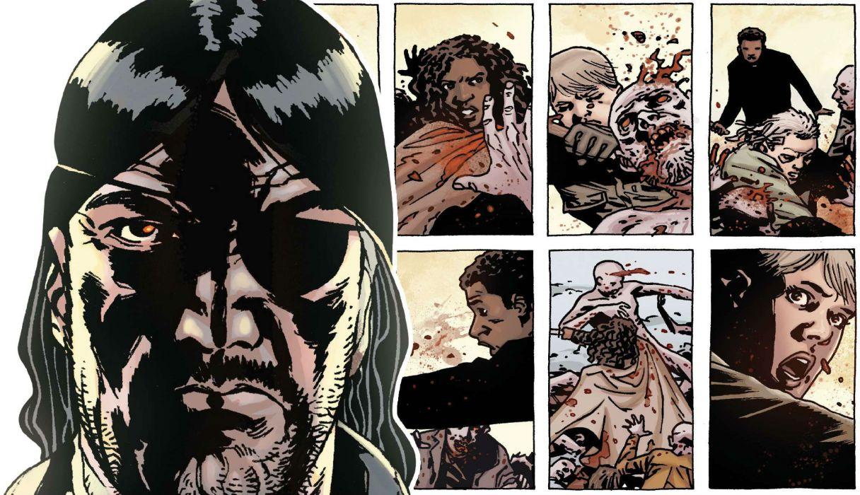 Walking Dead Image Comics Wallpaper 2273x1308 138955 Wallpaperup