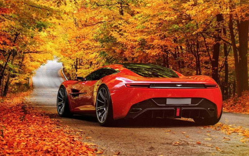 2013 Aston Martin DBC Concept supercar te wallpaper