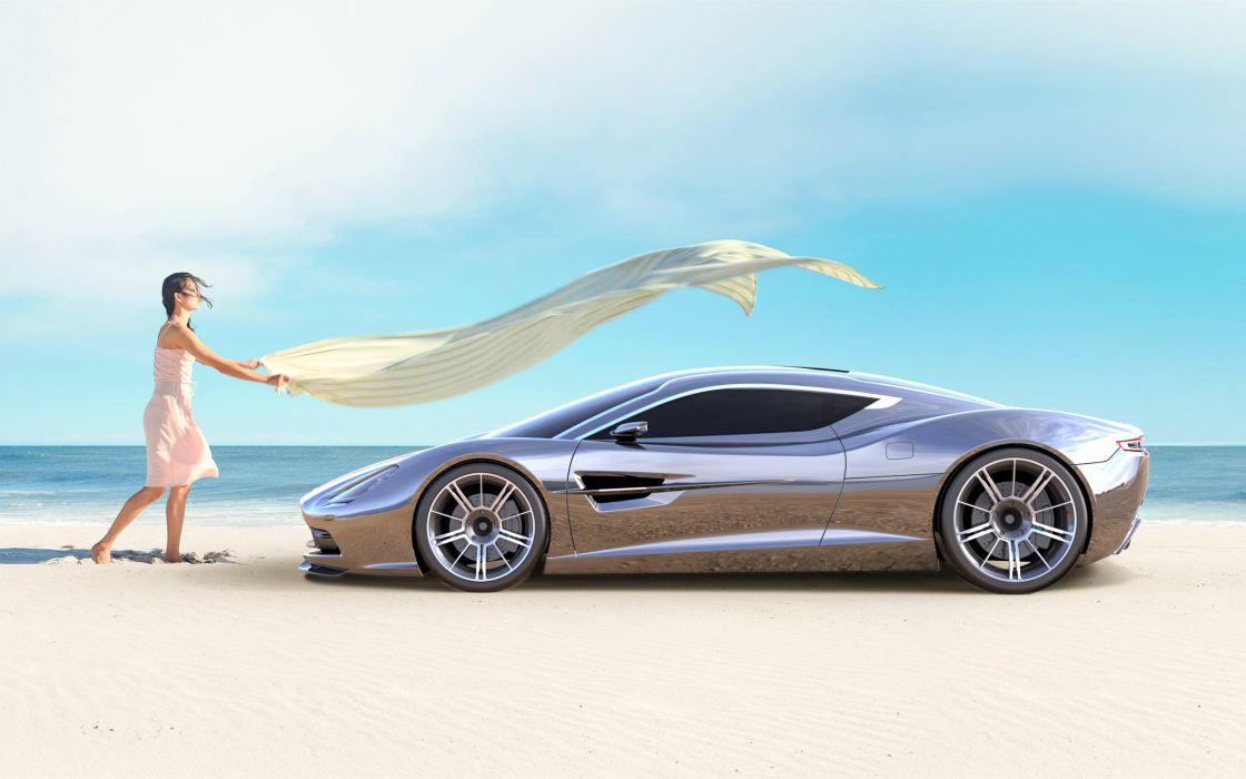 2013 Aston Martin DBC Concept supercar   w wallpaper