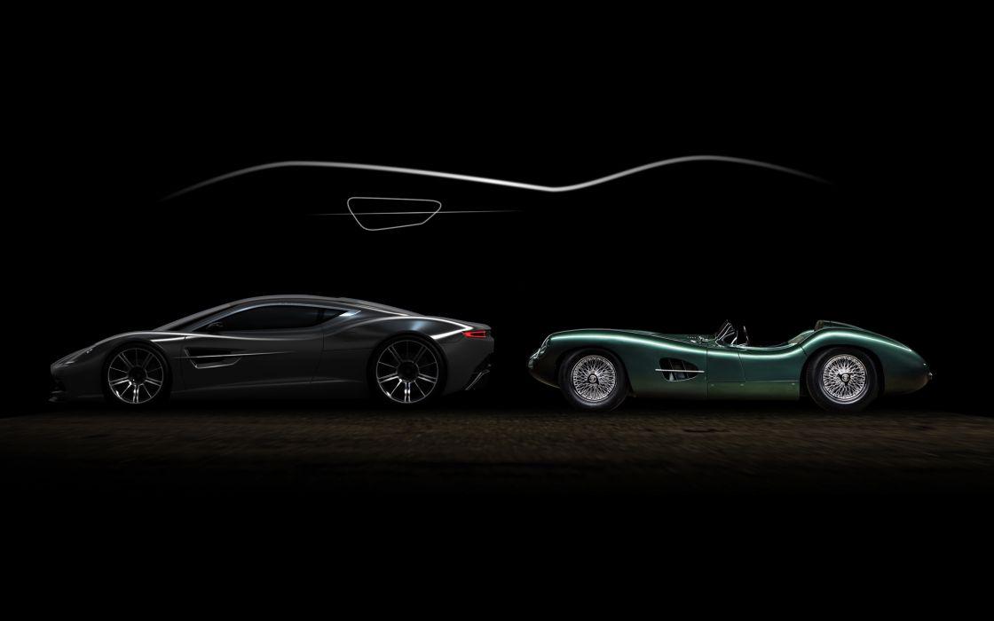 2013 Aston Martin DBC Concept supercar retro wallpaper