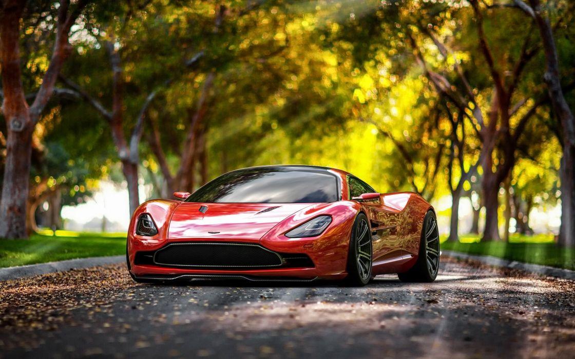 2013 Aston Martin DBC Concept supercar wallpaper