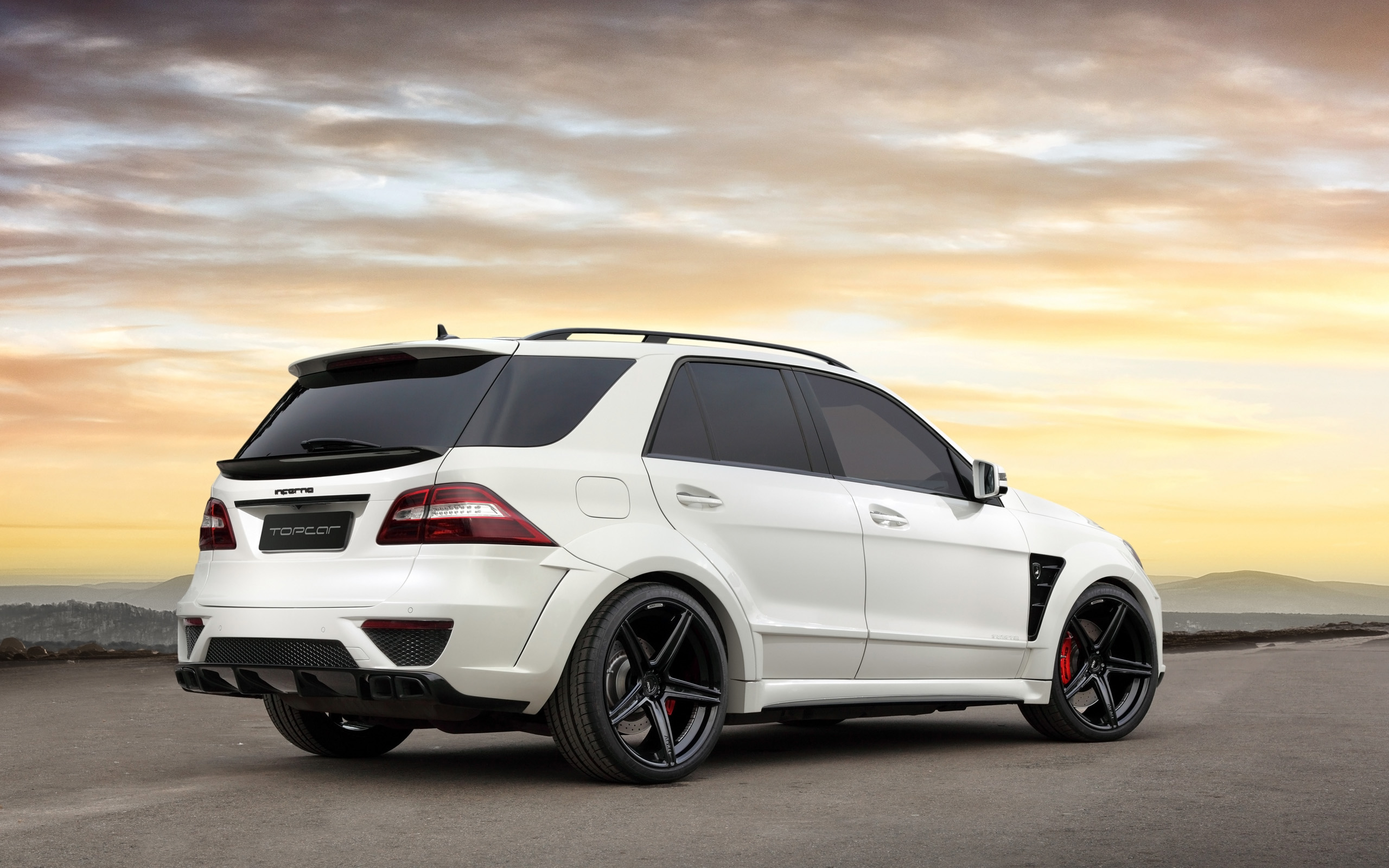 2013 topcar mercedes benz ml 63 amg inferno suv tuning gd wallpaper 2560x1600 139330 wallpaperup