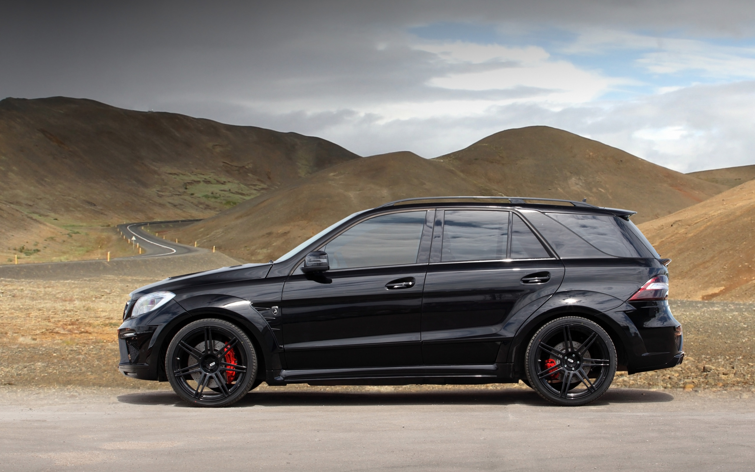 2013 topcar mercedes benz ml 63 amg inferno suv tuning hc for Mercedes benz ml350 2007