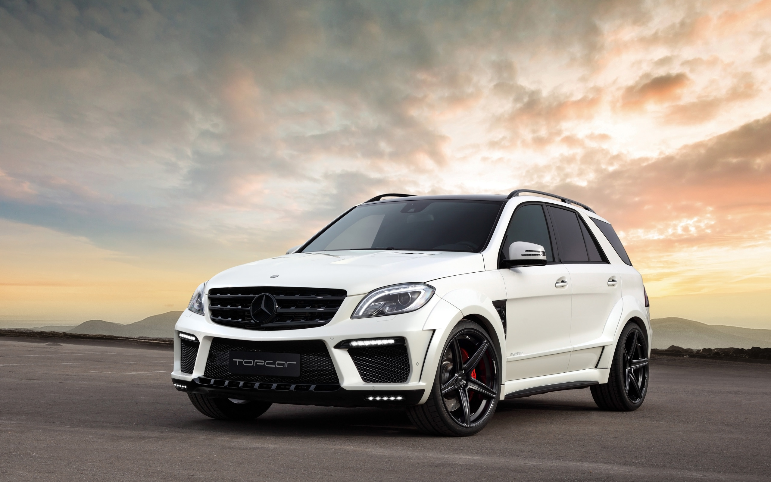 2013 topcar mercedes benz ml 63 amg inferno suv tuning fa wallpaper 2560x1600 139337 wallpaperup