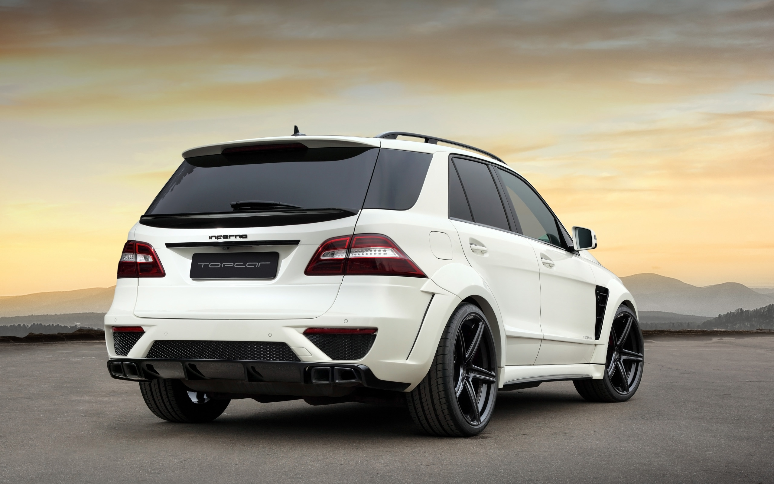 2013 topcar mercedes benz ml 63 amg inferno suv tuning f. Black Bedroom Furniture Sets. Home Design Ideas