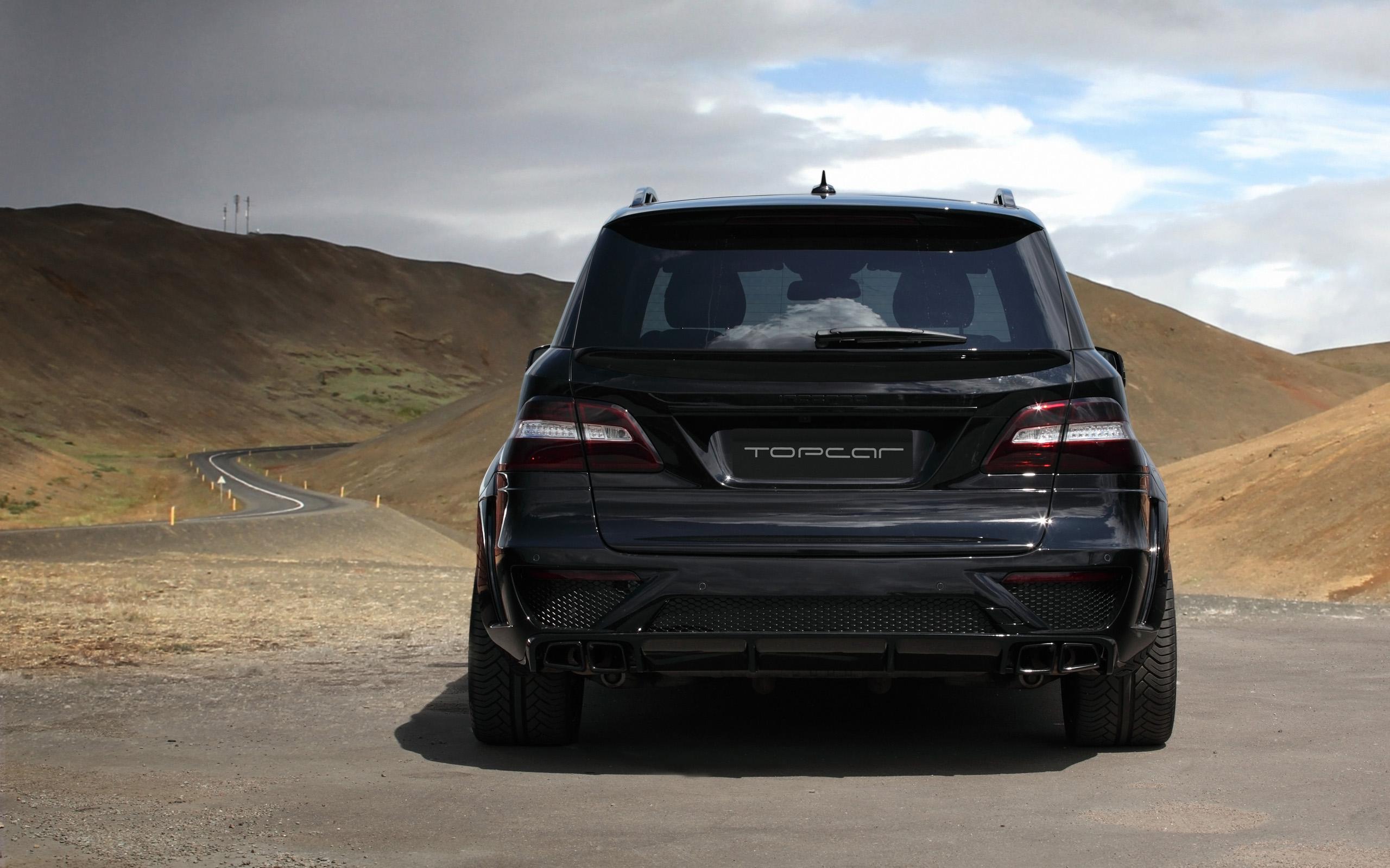 2013 Topcar Mercedes Benz Ml 63 Amg Inferno Suv Tuning Fs