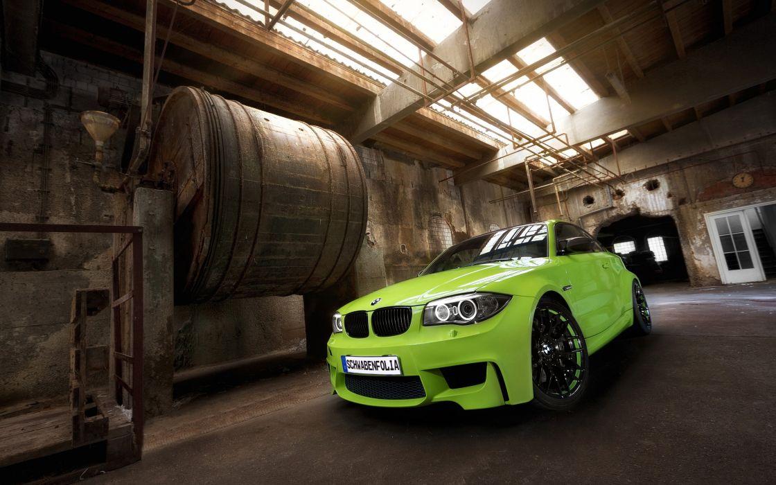 2013 SchwabenFolia BMW Series-1 M Coupe tuning   hg wallpaper