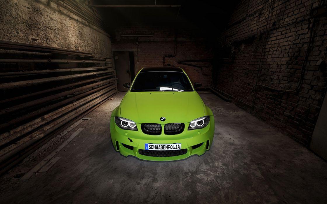 2013 SchwabenFolia BMW Series-1 M Coupe tuning   g wallpaper