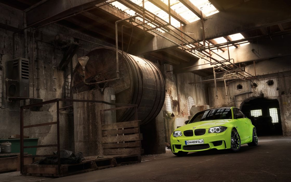 2013 SchwabenFolia BMW Series-1 M Coupe tuning wallpaper