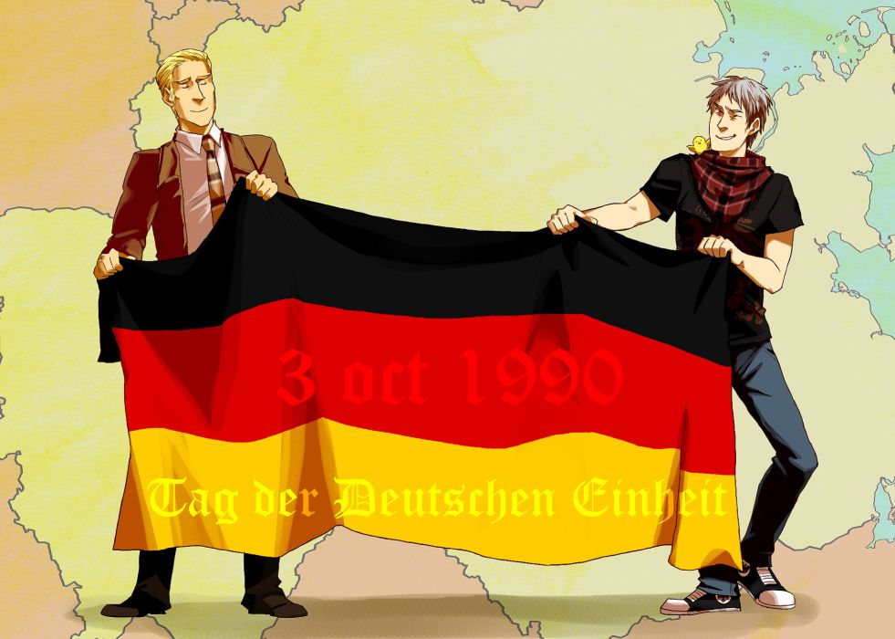 Axis Powers Hetalia Germanic Countries wallpaper
