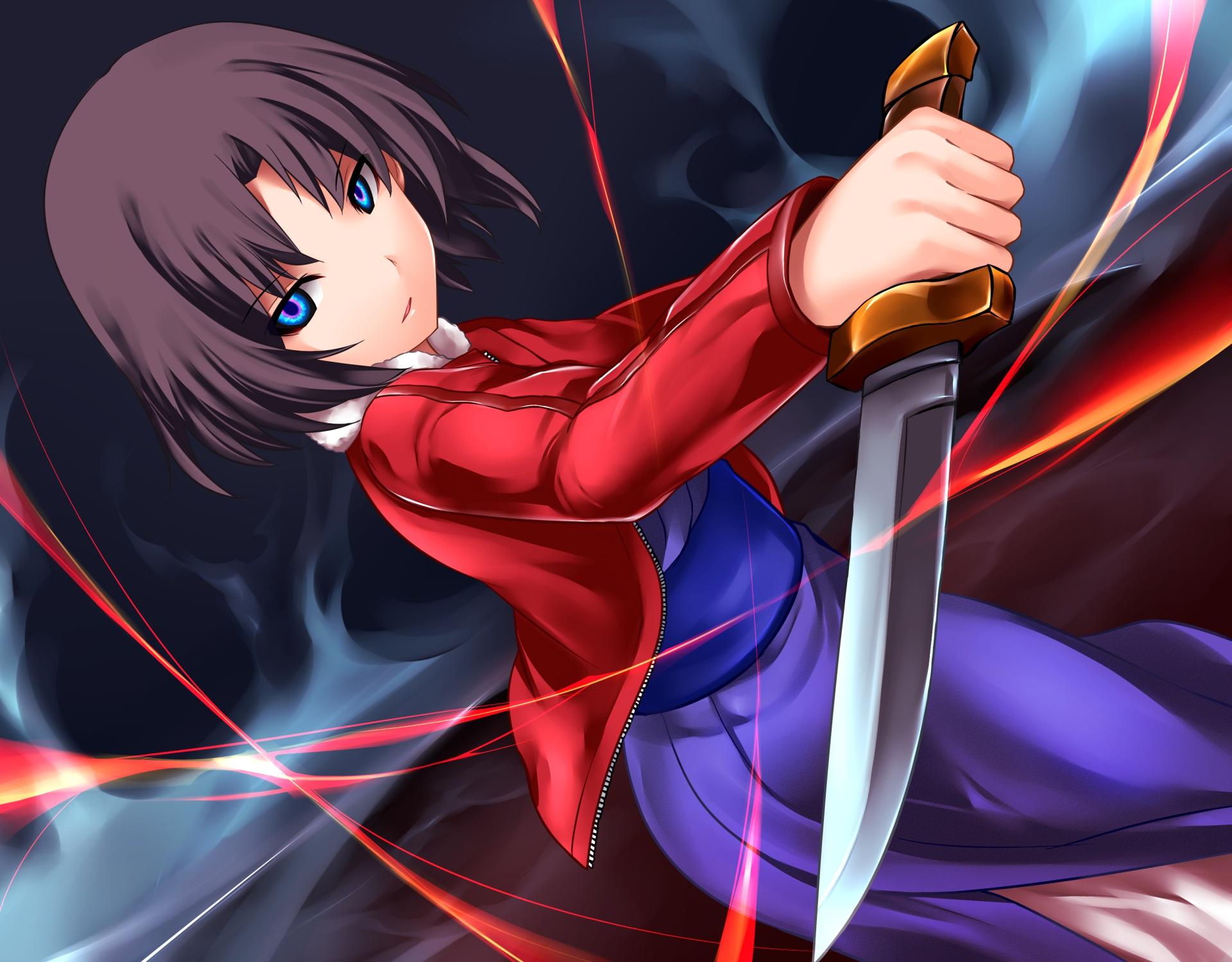 ryougi shiki weapons knife - photo #2