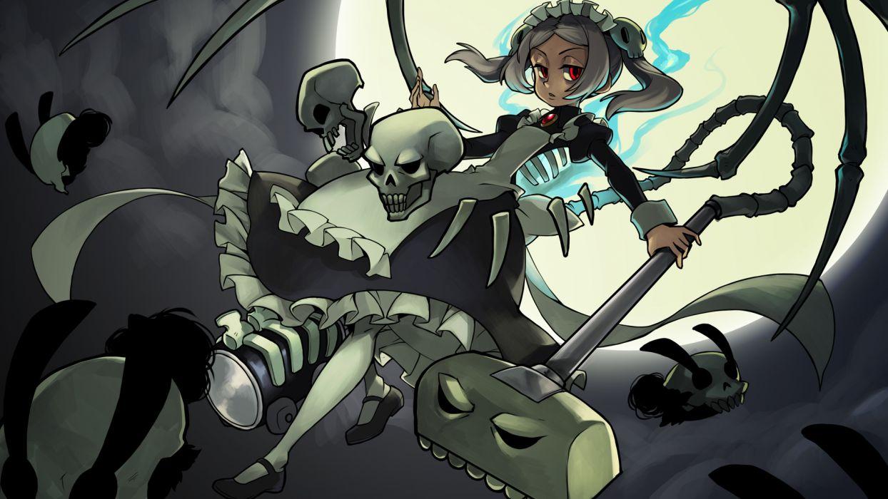 Skullgirls Bloody Marie wallpaper
