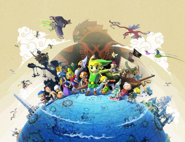 The Legend of Zelda Wind Waker wallpaper