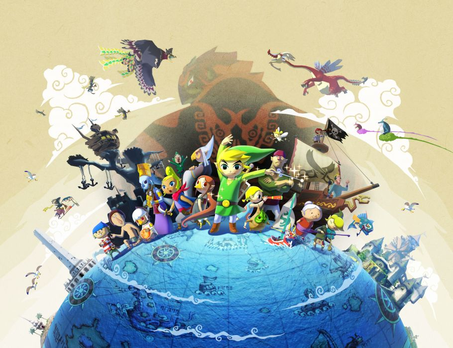 The Legend of Zelda Wind Waker wallpaper
