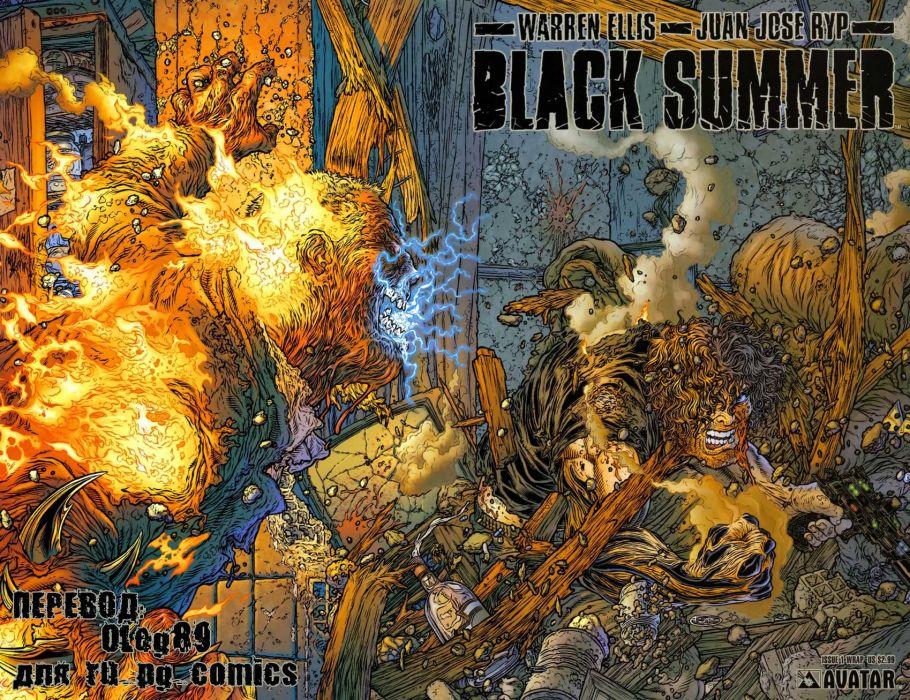 BLACK SUMMER avatar-press   hf wallpaper