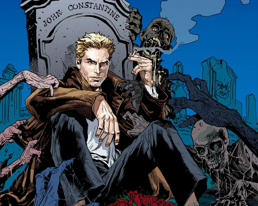 HELLBLAZER vertigo    hy wallpaper