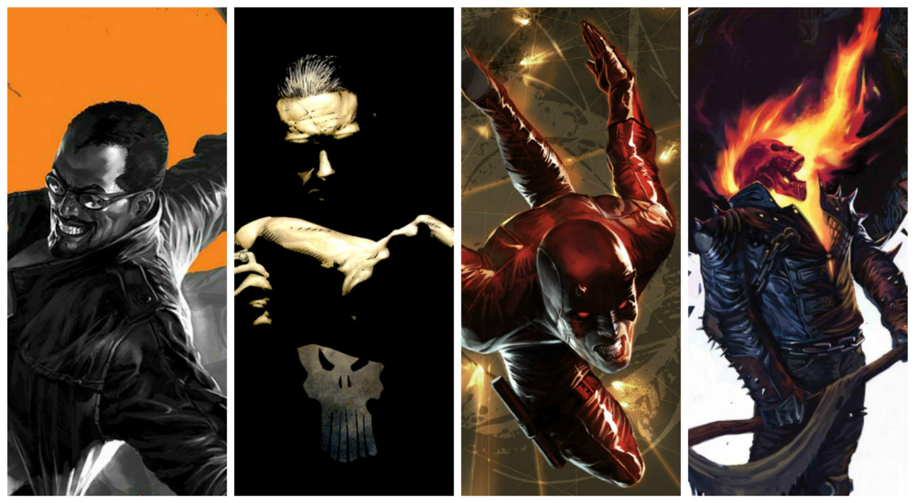 THE PUNISHER Marvel Daredevil Ghost Rider Wallpaper