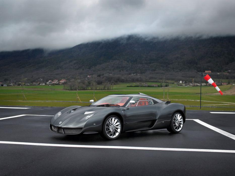 2007 Spyker C12 Zagato supercar   j wallpaper