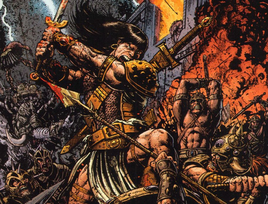 Conan The Barbarian G Wallpaper 1440x1100 140179