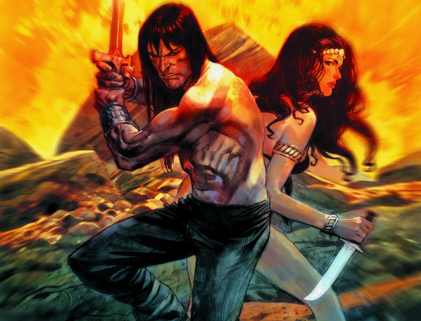 CONAN THE BARBARIAN gv wallpaper | 1440x1100 | 140189 ...