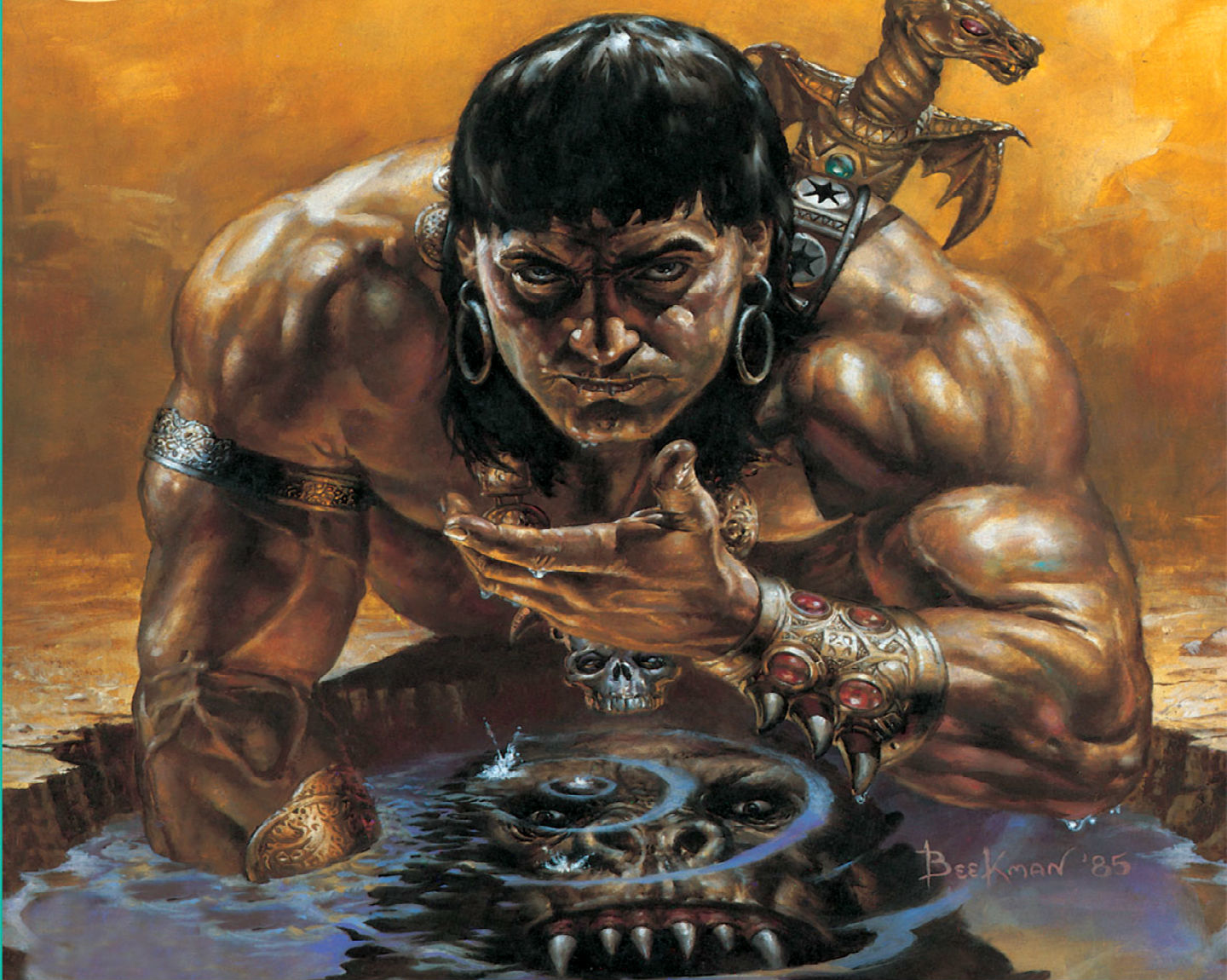 CONAN THE BARBARIAN l wallpaper | 1440x1150 | 140192 ...