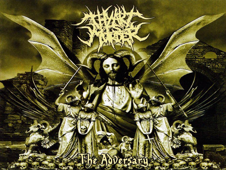 THY ART IS MURDER technical death metal heavy wallpaper