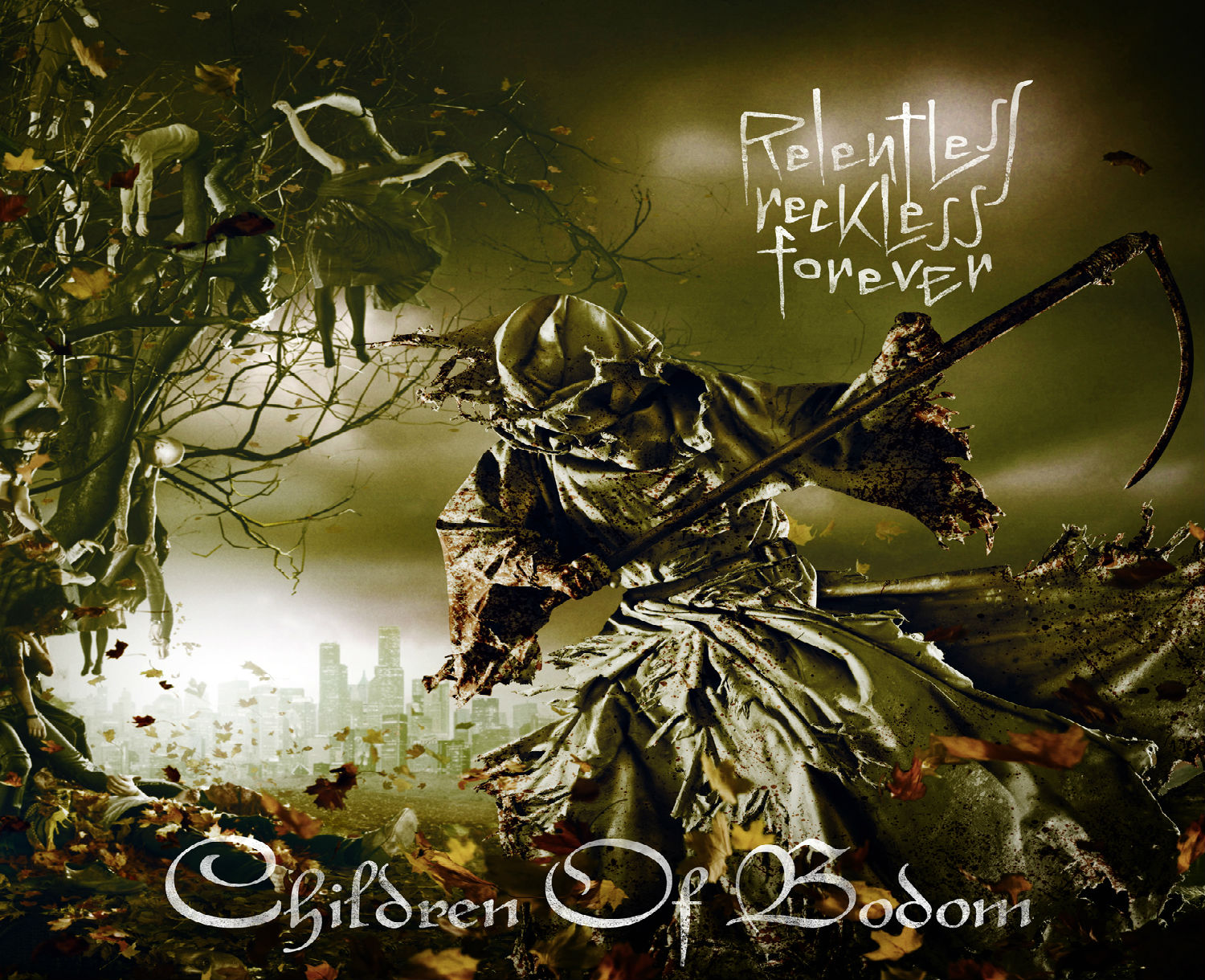 CHILDREN OF BODOM technical death metal heavy dark reaper ...