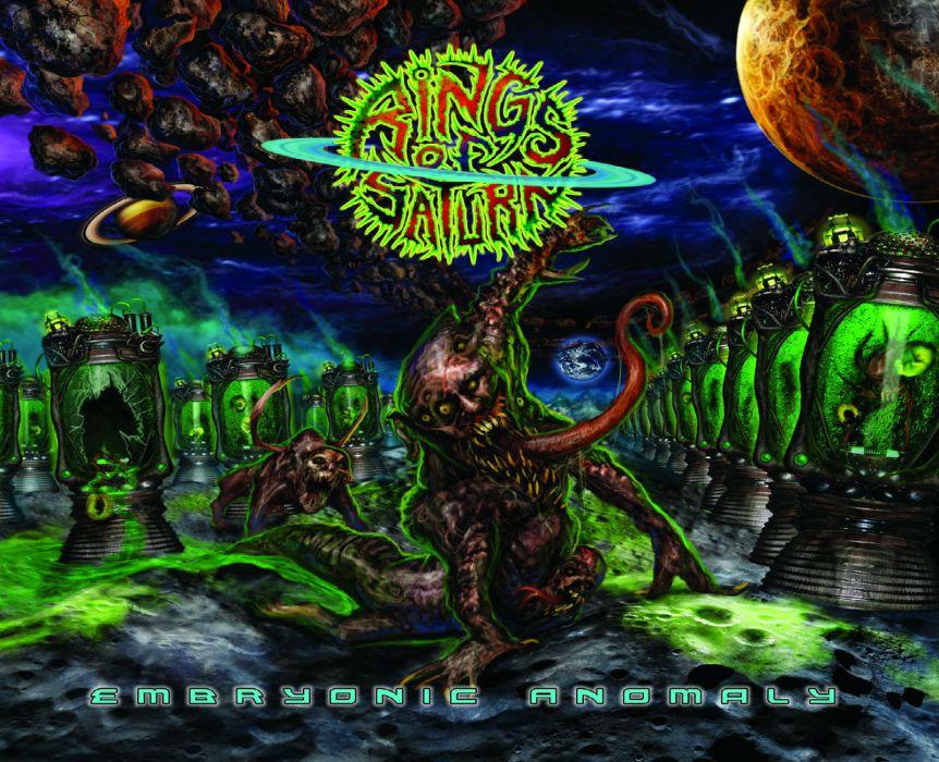 Rings Of Saturn death metal metalcore dark wallpaper