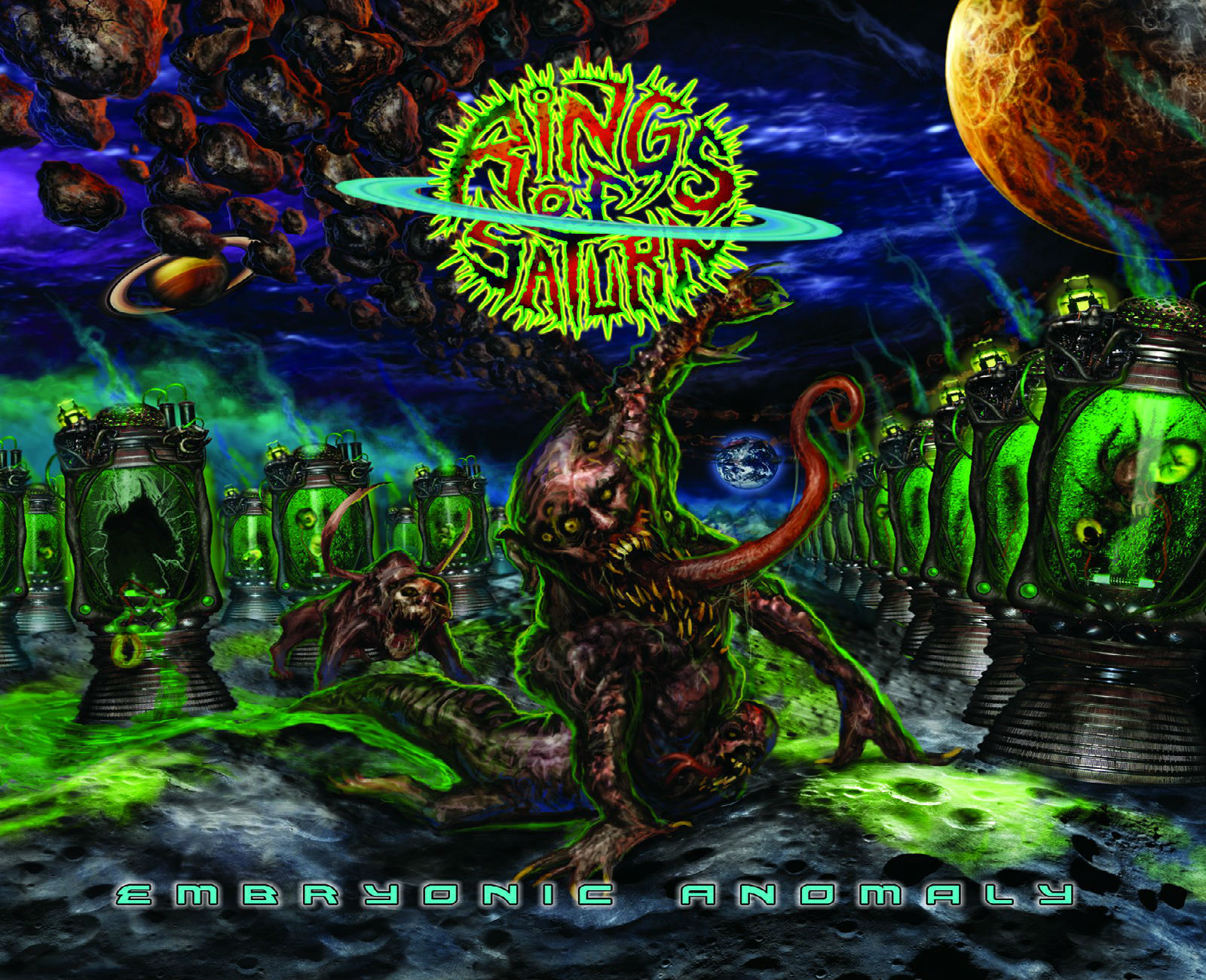 rings of saturn death metal metalcore dark wallpaper