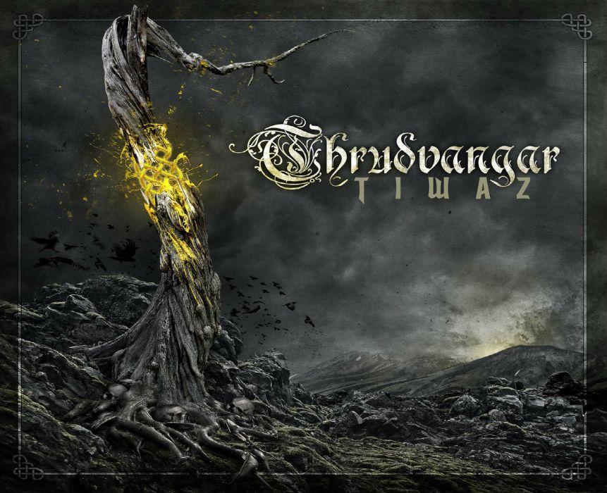 THRUDVANGAR viking death metal heavy dark fantasy    f wallpaper