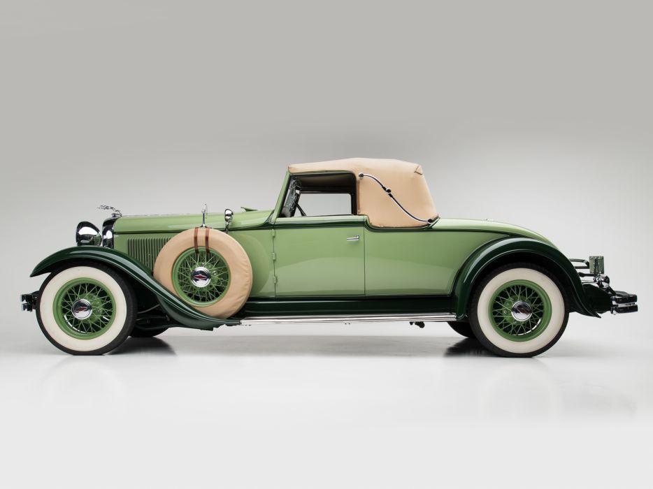 1931 Lincoln Model-K Convertible Coupe LeBaron 201-214 retro luxury   de wallpaper