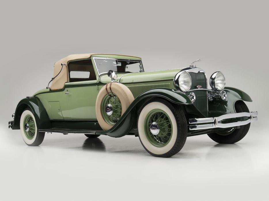 1931 Lincoln Model-K Convertible Coupe LeBaron 201-214 retro luxury wallpaper