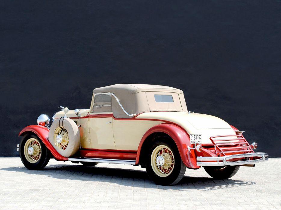 1931 Lincoln Model-K Convertible Coupe LeBaron 201-214 retro luxury   d wallpaper