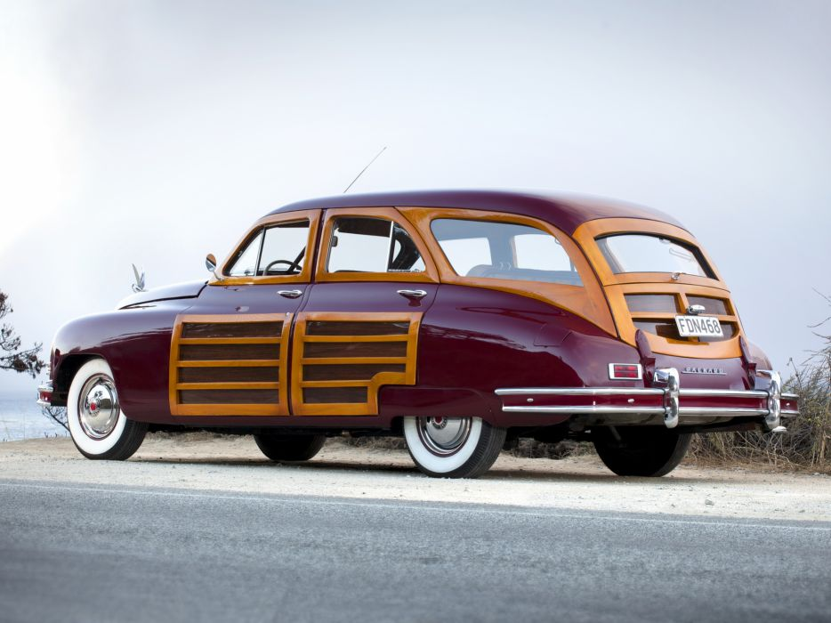 1948 Packard Standard Eight Station Sedan 2201-2293 stationwagon retro luxury    he wallpaper