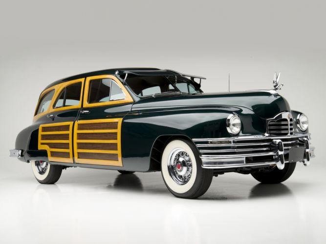 1948 Packard Standard Eight Station Sedan 2201-2293 stationwagon retro luxury g wallpaper