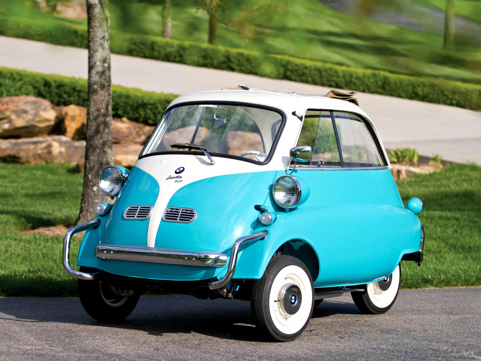1957 Bmw Isetta 300 Us-spec