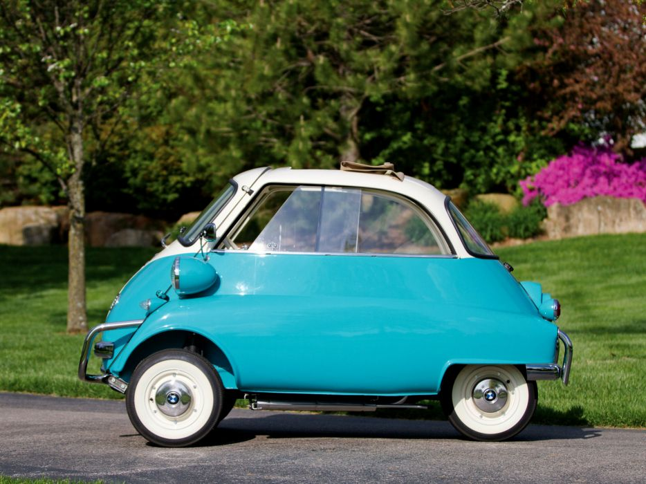1957 BMW Isetta 300 US-spec retro   hs wallpaper